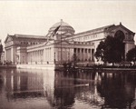 View of the Art Palace-now the Museum of Science and Industry.